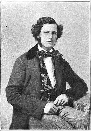 Thomas Brigham Bishop - Thomas Brigham Bishop around 1857