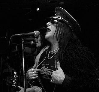 Taime Downe - Downe singing in 2010