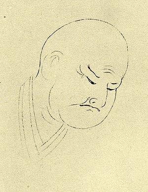 Takarai Kikaku - Portrait by Oguri Kanrei (小栗寛令)