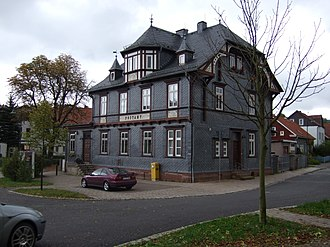 Tambach-Dietharz - Old post office