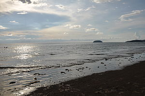 Tanjung Aru - Image: Tanjung Aru Beach and the Islands