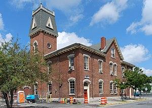Central Fire Station (Taunton, Massachusetts) - Image: Taunton Central Fire Station