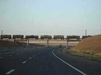 Freeway 5 (Iran) - Image: Tehran Saveh Highway