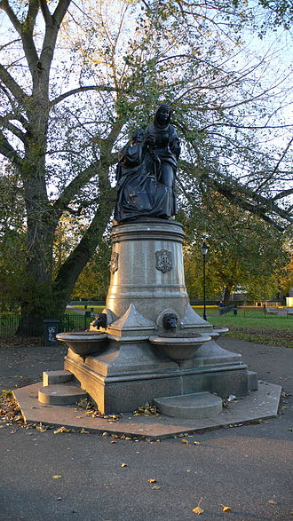 Temperance fountain - A temperance fountain in Clapham Common, London