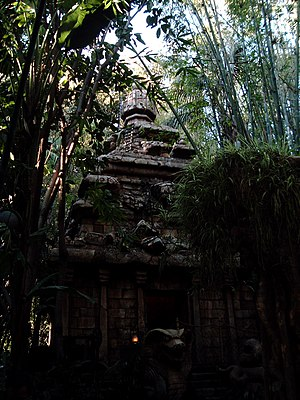 Indiana Jones Adventure - The Temple of the Forbidden Eye