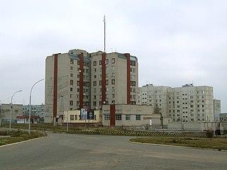 Teplodar City in Odessa Oblast, Ukraine
