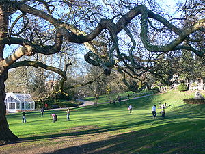 Richmond Hill, London - A small corner of the Terrace Gardens