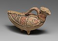 Terracotta askos (flask with a spout and handle over the top) in the form of a bird MET DP138637.jpg