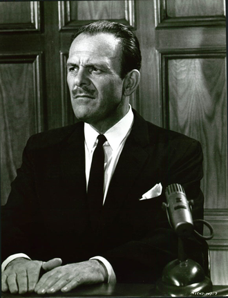 How to Murder Your Wife - Terry-Thomas testifying on the stand during the trial.