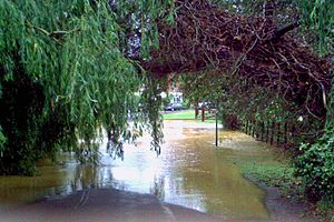 Tetford - 2007 flooding
