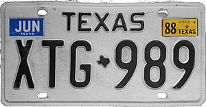 Vehicle registration plates of Texas - Wikiwand