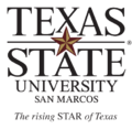 Texas State University-San Marcos primary logo vertical.png