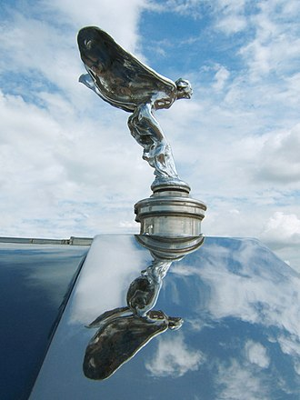 Rolls-Royce Limited - Rolls-Royce's The Spirit of Ecstasy hood ornament