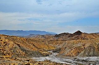 Tabernas Desert desert in Spain