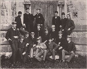 Amherst College Glee Club - The club, circa 1880