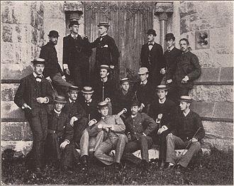 Amherst College Glee Club - The club, circa 1880
