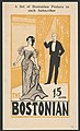 The Bostonian. A set of Bostonian posters to each subscriber. 15 cents. LCCN2014650136.jpg