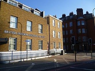 British Interplanetary Society - Image: The British Interplanetary Society, South Lambeth Road (geograph 2790848)