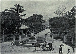 Embassy of the United Kingdom, Bangkok - The British Legation, c. 1908