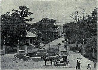 Embassy of the United Kingdom, Bangkok - The British Legation, c. 1908