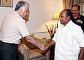 The Commander of Turkish Armed Forces, General Necdet OZEL called on the Defence Minister, Shri A. K. Antony, in New Delhi on April 03, 2013.jpg