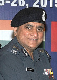 The Director General, National Disaster Response Force (NDRF), Shri O.P. Singh, IPS (cropped).jpg