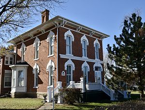 National Register of Historic Places listings in Monroe County, Iowa - Image: The Elbert Bates House