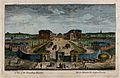 The Foundling Hospital, Holborn, London; a bird's-eye view o Wellcome V0013459.jpg