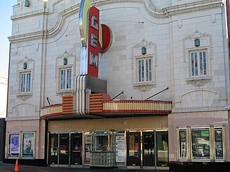 The historic Gem Theatre, located in Kansas City's renowned 18th and Vine Jazz District The Gem Theatre.jpg
