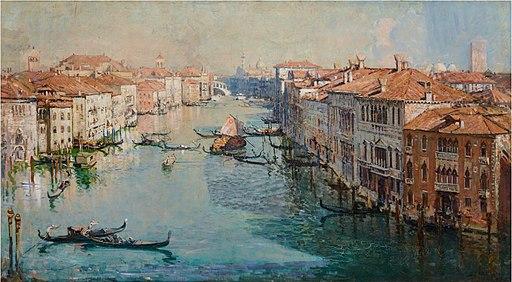The Grand Canal 1908 - Arthur Streeton