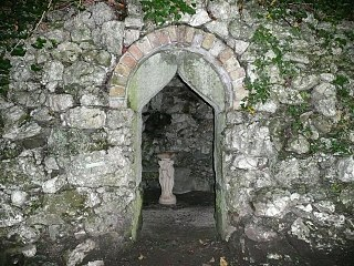 Grotto At Maesfron, A 458 (t) N Side, Trewern