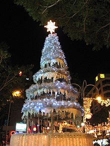 christmas in singapore - Greek Christmas Decorations