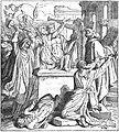The Jews destroy the idol's altar in the temple.jpg