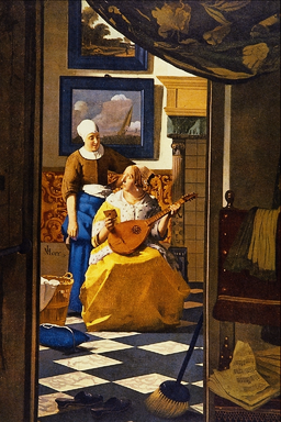 The Love Letter - Jan Vermeer van Delft