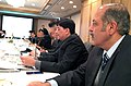 The Minister of State (Independent Charge) for Power, Coal and New and Renewable Energy, Shri Piyush Goyal addressing the India-Japan round table conference on Smart GridsSmart Meters, in Tokyo.jpg