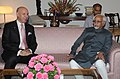 The Minister of State for Foreign Affairs of Tunisia, Mr. Hedi Ben Abbes calls on the Vice President, Shri Mohd. Hamid Ansari, in New Delhi on April 24, 2012.jpg