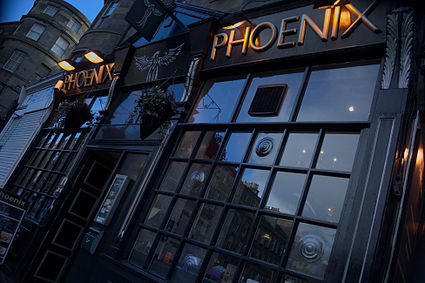 The Phoenix Bar, on Edinburgh's Broughton Street. Image: Brian McNeil.