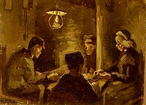 Effets de soir - Image: The Potato Eaters Vincent van Gogh
