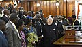 The Prime Minister, Shri Narendra Modi interacting with the Members of Ugandan Parliament, at Parliament of Uganda, in Kampala on July 25, 2018.JPG