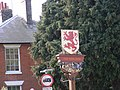The Red Lion Public House Sign - geograph.org.uk - 1026109.jpg