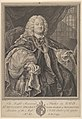 The Right Reverend Father in God, Dr. Benjamin Hoadly, Lord Bishop of Winchester, Prelate of the Most Noble Order of the Garter, Aet. 67. A.D. 1743 MET DP835455.jpg