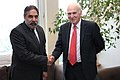 The Secretary of State for Business, Innovation and Skills, Mr. Rt Hon Dr Vince Cable MP meeting the Union Minister for Commerce & Industry, Shri Anand Sharma, Shri Anand Sharma, in London on June 25, 2013.jpg