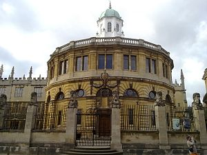 Sheldonian Theatre - Sheldonian Theatre. View from Broad Street