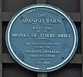 The Spanish Barn plaque, Torquay.jpg
