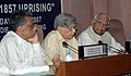 "The Speaker, Lok Sabha, Shri Somnath Chatterjee delivering the introductory remarks on the occasion of ""Perspectives on 1857 Uprising"", as a part of the lecture series for Members of Parliament, in New Delhi on May 9, 2007.jpg"
