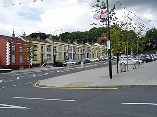 Tandragee village in the United Kingdom