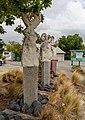 The Three Grandmothers (sculpture), Amberley, New Zealand.jpg