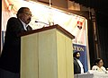 The Union Minister for Law & Justice, Dr. M. Veerappa Moily addressing at the 2nd Regional Consultation on Electoral Reforms at West Bengal National University of Juridical Sciences, in Kolkata on January 09, 2011.jpg