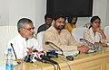 The Union Minister for Rural Development and Panchayati Raj, Dr. C.P. Joshi briefing the press regarding the initiatives of the Ministry of Rural Development, in New Delhi on June 25, 2010.jpg