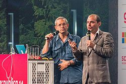 The Yes Men at re-publica 2014.jpg